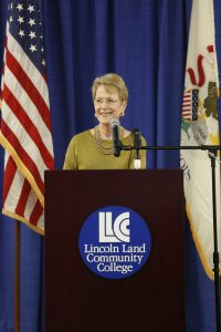Dr. Warren, LLCC president