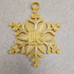 Picture of 3D Printed Gold Ornament