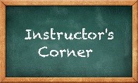 Instructors corner