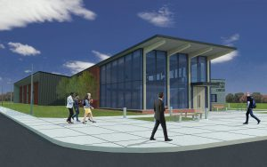 Kreher Agriculture Center rendering