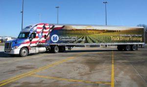 2014 Freightliner truck.